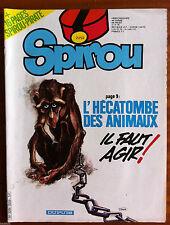 c)SPIROU n°2252; Avec le Pirate n°31/ L'hécatombe des animaux