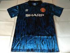 Brand New Manchester United Umbro 1992 Away Retro Football Jersey