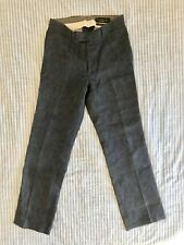 Rogan A Litl Betr Jeans Dark Raw Denim Pants Trouser Tailored Japan Made Size 30