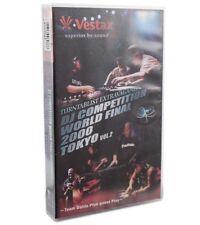 Vestax VHS extravagancia 2000 t Vol. 2 video casete de video DJ World final Tokyo