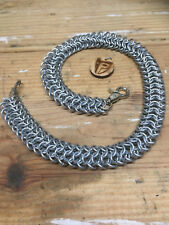 Chainmail Wallet Chain - Delirious Roundmail - Handcrafted - 14 Gauge