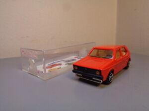MAJORETTE FRANCE No 210 VINTAGE VW VOLKSWAGEN GOLF MINT IN BOX