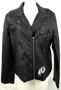 Touch Washington Redskins Womens Size L or XL Faux Leather Jacket ARDK 20