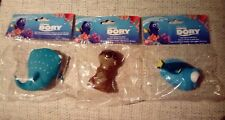 New Disney Pixar Finding Dory Bath Toy Squirters X3 Dory, Destiny and Sea Otter