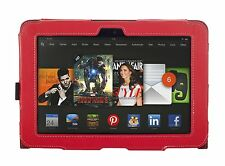 """NEW Kyasi Seattle Classic Tablet Case for Amazon Kindle HD 8.9"""" Rad Red"""