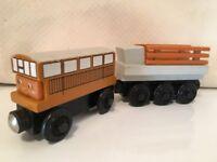 Thomas Train Catherine Flatbed Cargo Wooden Car 1999 Britt Allcroft