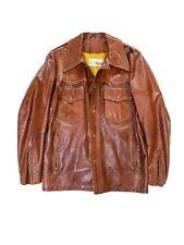 Vintage Bates Custom Made leather jacket