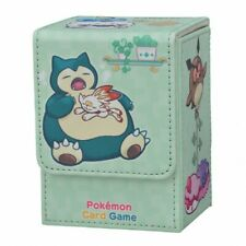 NEW Pokemon Card Game Flip Deck Case Holds 180 sheets Snorlax  Japan Original