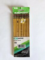 Vintage 1980 Empire #2 Pencils Pack Of 10 non-toxic New