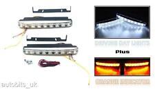 LED DRL Daytime Running Lights + Indicators FOR PEUGEOT 106 206 306 406 207 307
