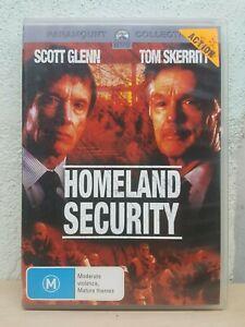 Homeland Security DVD Scott Glenn - Tom Skerritt - RARE ACTION MOVIE
