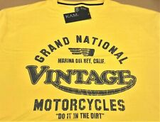 Kam: Grand National Vintage T Shirt.100% cotton.Colour: Yellow.Size 4XL.