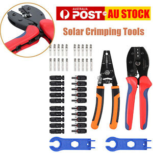 Crimping Tools Solar Stripper 2.5/4.0/6.0mm² Solar Panel PV Cable Wire Stripper