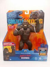 Godzilla Vs Kong Movie Battle Roar KONG Deluxe With Monster Sounds Playmates NIP
