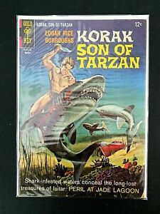 KORAK: SON OF TARZAN #16 GOLD KEY COMICS 1967 FN-