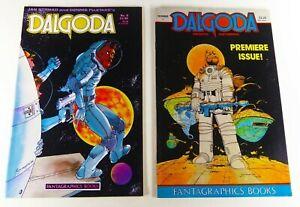 Fantagraphics DALGODA (1984) #1 VF- + #8 VF Lot Ships FREE!