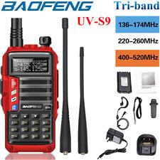 Baofeng Uv-S9 / Uv-9R Plus/Uv-5R â…¢ / Bf-T1 Walkie Talkie Two Way Radio + Headset