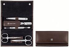 Zwilling Classic Inox Manicure Set Manicure Case NAIL CARE Braun 5 Pcs Beauty