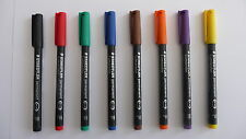 Staedtler Lumocolor Permanent Marker Pen In Singles Various Colours And Widths