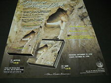 PICNIC AT HANGING ROCK from Peter Weir 1998 MOVIE PROMO POSTER AD mint cond