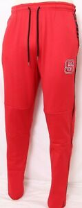 NEW North Carolina NC State Wolfpack Colosseum Yacht Rap Red Sweatpants Men's L