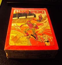 L'UOMO RAGNO (Spider Man) lotto di nr. 12 Quaderni Vintage * Cartorama 1979 *