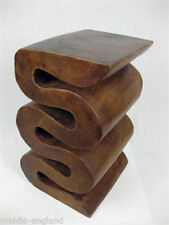 Solid Wood Irregular No Assembly Required Side & End Tables