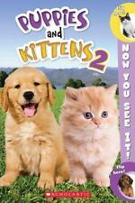 Now You See It! Puppies and Kittens 2 by Dara Foster (2013, Paperback)