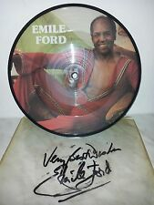"""7"""" 45 GIRI EMILE FORD - YOU CAN FEEL IT - PICTURE DISC - COVER SIGNED"""