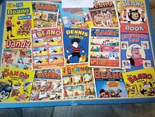 Beano and Dandy 1000 piece Gibsons Jigsaw puzzle. the golden years. complete.