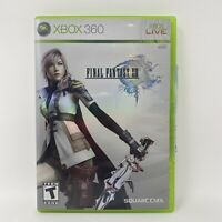 Final Fantasy XIII 13 (Microsoft Xbox 360, 2010) No Manual Tested Working