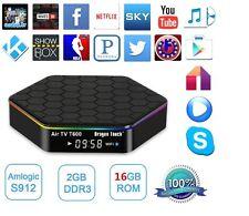 T95Z Plus 4K Smart TV Box Amlogic S912 Octa core Android 6.0 2G+16G 2.4G/5G US
