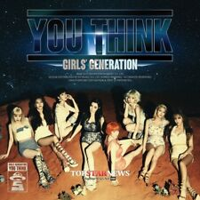 SNSD GIRLS' GENERATION [YOU THINK] 5th Album CD+Photo Book+Photo Card SEALED