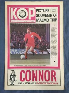 Liverpool FC  -  KOP Newspaper  -   September 27th 1967  -  Issue No 28