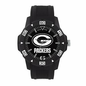 Green Bay Packers NFL Men's Automatic Black Watch - Brand New