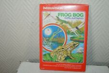 JEU VIDEO FROG BOG INTELLIVISION MATTEL ELECTRONICS RETRO GAME VINTAGE 1982
