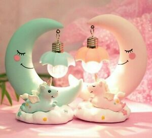 Children Luminous Decoration LED Cartoon Night Lamp Unicorn Bedroom Display Lamp
