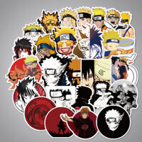 100Pcs/Lot Naruto Stickers Bomb Stickerbomb Luggage Skateboard Car Laptop Decals