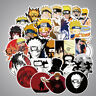 100Pcs Anime Naruto Ninjia Stickers Vinyl Luggage Skateboard Laptop Decals Pack