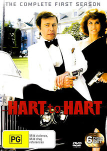 Hart to Hart The Complete First Season - DVD Series Rare Aus Stock -Excellent