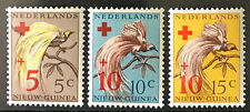Nederlands  New Guinea Indonesia 1955** Vögel / Birds Rotes Kreuz/Red Cross  MNH