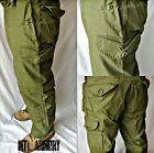CANADIAN FORCES ISSUED OD 6 POCKET COMBAT PANTS SIZE 6432 (CANADA ARMY)Uniforms & BDUs - 70988