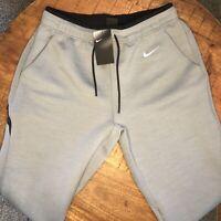 Nike Jogger Pants Training Therma Heather Gray Black AO5857-063 Mens Size L