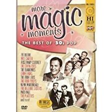 More Magic Moments Best of 50's Pop DVD Patti Page McGuire Sisters Pat Boone