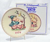1979 M.I. Hummel Annual Plate with Original Box - Goebel West Germany - Nice!