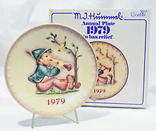 1979 M.I. Hummel Annual Plate with Original Box - Goebel West Germany - Nice!
