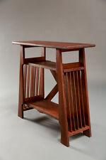 Mission Style Table-quartersawn oak