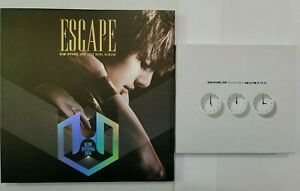 KIM HYUNG JUN SS501 Album LOT Escape & AM to PM K-POP CDs
