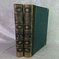 Cassell's Portrait Gallery Volumes III - VI Circa 1870 / Antique / First Print
