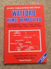 Watford and Hemel Hempstead Street Atlas by Estate Publications (Paperback, 1987)